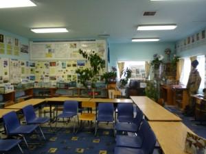 択捉島の学校(社会科室?3)